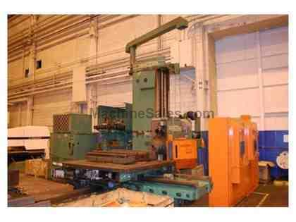 "Giddings & Lewis MC-60 6"" CNC Horizontal Machining Center"