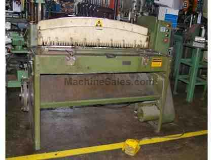 4' X 14 GA. DIACRO MECHANICAL POWER SQUARING SHEAR