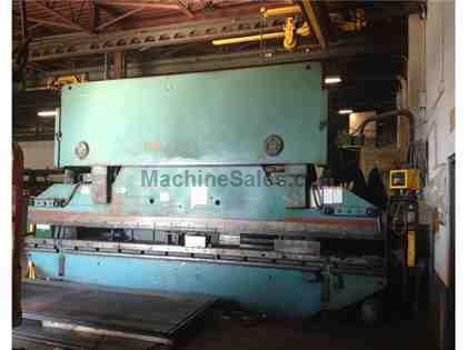325 TON X 20' WYSONG HYDRAULIC PRESS BRAKE