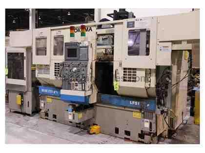 OKUMA ROBUSTURN LFS15-2SP TWIN SPINDLE CNC LATHE
