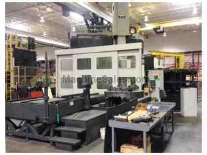"MAZAK A-16M MegaTurn 65"" CNC Vertical Turning Center With Pallet Shutt"