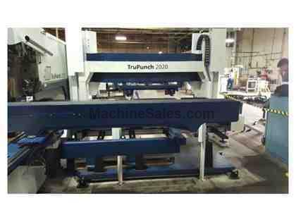 TRUMPF, TRUPUNCH 2020, CNC TURRET PUNCH NEW: 2011