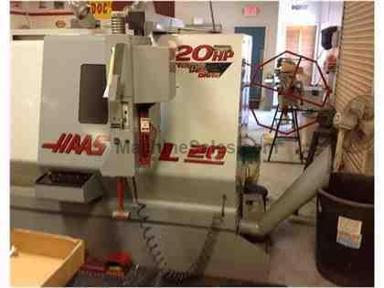 2002 Haas SL-20T CNC Turning Center
