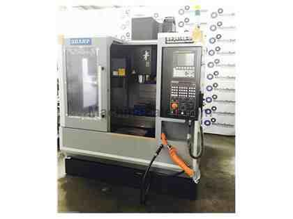 NEW! SHARP SV-2414S-IF - BOX WAY VERTICAL MACHINING