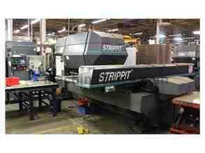 STRIPPIT LVD 1250H30 CNC PUNCH/ LASER  Turret full of Thick Tooling 1996