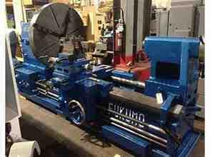 "48""/68"" x 72"" FUKUMO IRON WORKS GAP BED ENGINE LATHE"