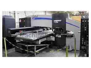"STRIPPIT GLOBAL 20 50"" x 100"", 4 A/I, 30 Stations, Fanuc 180i Turret Punch"