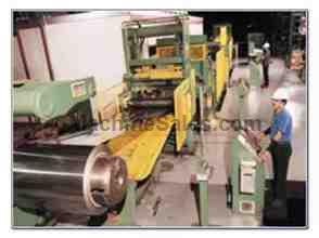 COMPLETE STAINLESS STEEL RE-ROLLING FACILITY