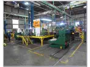 "50"" x .135"" x 33,000# Loopco Gen II Loop Slitting Line"