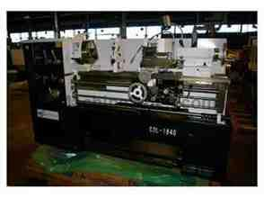 "NEW DALIAN MODEL CDL6241/1000 16"" X 40"" CC GAP BED ENGINE LATHE"