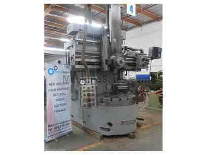 "SUMMIT SC 14 VERTICAL BORING LATHE TURNING 48"" CHUCK - VTL"