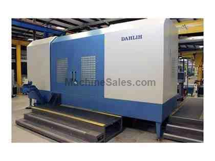 DAHLIH HC2000 CNC HORIZONTAL MACHINING CENTER (2012)