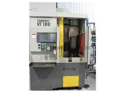 HARDINGE VT-100 CNC VERTICAL TURNING CENTER (1996)