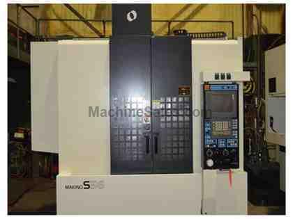 MAKINO S56 CNC VERTICAL MACHINING CENTER  (2007)