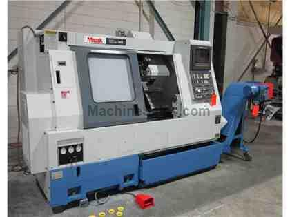 MAZAK SQT-18M CNC TURNING CENTER (1993)