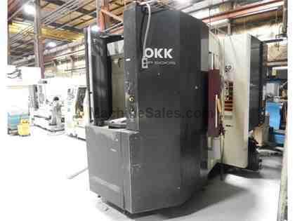 OKK HP 500S CNC HORIZONTAL MACHINING CENTER (2004)