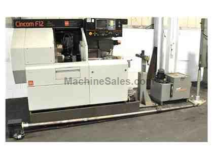 CITIZEN #F12 CNC SWISS TYPE TURNING CENTER