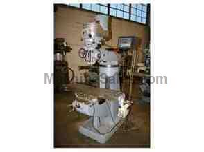 BRIDGEPORT 1-1/2 HP VERTICAL RAM TYPE MILLING MACHINE