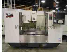 "2007 Fadal VMC4020HT Vertical Machining Center, 40"" x 20"" x 24&qu"