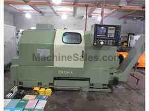 96 OKUMA LB-25 LB25 CNC LATHE TURNING CENTER HAAS VIDEO PERFECT MACHINE