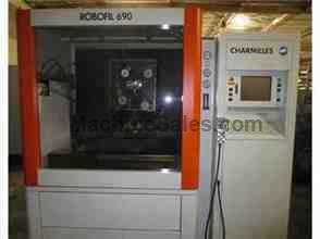 2003 CHARMILLES ROBOFIL 690 WIRE EDM SODICK AGIE VIDEO. PERFECT MACHINE