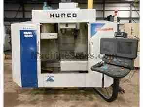 "1998 HURCO MODEL BMC-4020HT VMC WITH ULTIMAX CONTROL, 40"" X 20"" X"