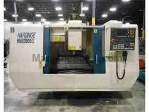 "2000 Hardinge VMC-1000II VMC with Pallet System, Fanuc Control, 40"" x"