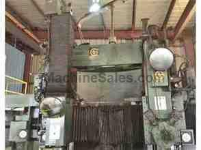 "Giddings & Lewis 60"" 4-Axis CNC Vertical Boring Mill"