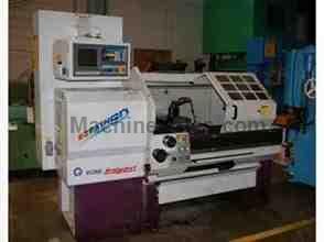 "16"" X 40"" BRIDGEPORT ROMI EZ-PATH CNC/MANUAL ENGINE LATHE"