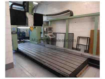 JOBS Jomach 21 5-Axis CNC Traveling Gantry Boring Mill (1990)