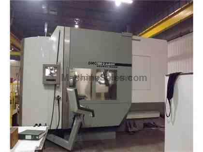 Deckel Maho DMG-100U DuoBLOCK with 5th Axis CNC Horizontal Machining Center (2005)