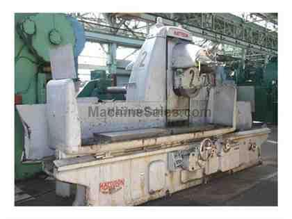 "MATTISON HORIZONTAL SURFACE GRINDER 20"" X 96"""