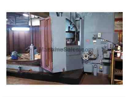 Mattison Rotary Surface Grinder, 10 Ton Crane and Plate Flipper