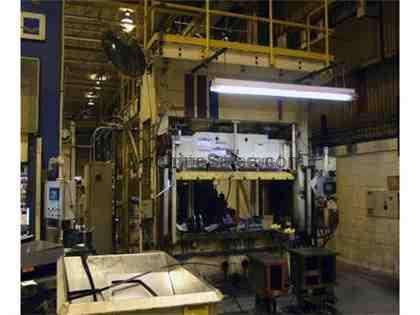 Pacific Straight Side Hydraulic Press 200 Ton (1992)