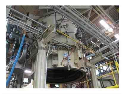 ABAR VACUUM FURNACE, BOTTOM LOAD
