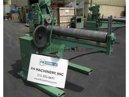 "FASTENER ENGINEERS PF-6000-08 UNCOILER, 8"" DIA, 50"" FEED ROLL HEI"