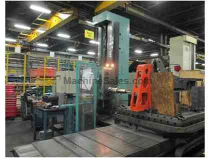 "5.3"" Tos WHN-13 CNC Table Type Horizontal Boring Mill"
