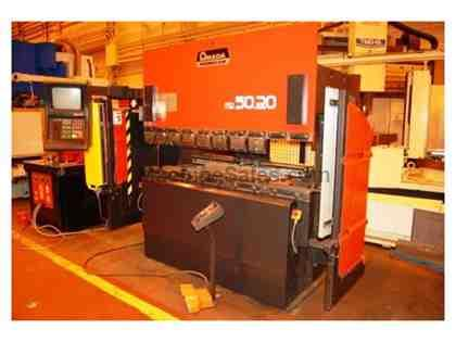 Amada 5020 CNC Up-Acting Hydraulic Press Brake