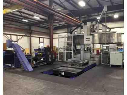 Mitsubishi MVR-30 (2012) 5 Face Double Column CNC Machining Center