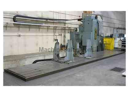 "Cincinnati Gilbert HJF 5.37"" CNC Horizontal Floor Type Boring Mill"