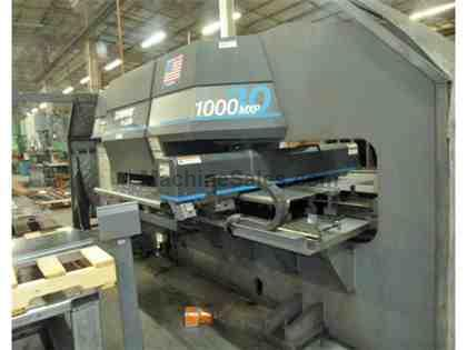 33 Ton Strippit 1000MXP/30 CNC Turret Punch