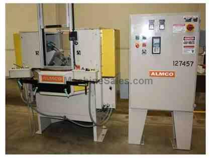 "No. S2-30,Almco Spindle Deburring,2-Spdl,30""Slurry Tub,2.5"" Max. Part Diam.'09"