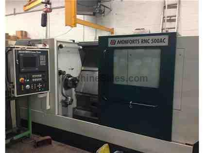 2005 Monforts RNC 500 CNC Turning Center