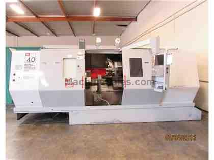 2004 Haas SL-40T Long Bed CNC Lathe w/ Live Tooling
