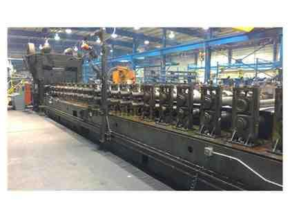 "20 Stand Dahlstrom 4.5"" x 60"" Roll Forming Line Model 600-2-OB"