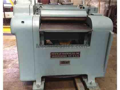 Used Newman S970 Double Surfacer.