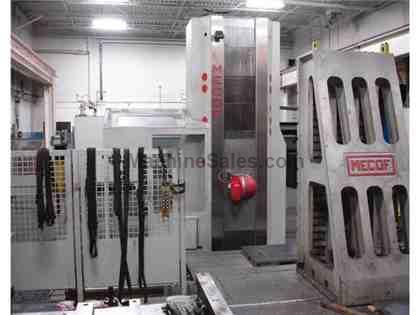 Mecof M-3 CNC Floor Type Horizontal Boring Mill with Rotary Table