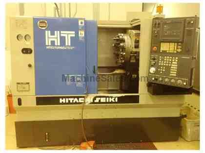 "HITACHI SEIKI HI-TEC TURN 20J, 1999, 8"" CHUCK, TAILSTOCK - CLEAN & GREAT PRICE"