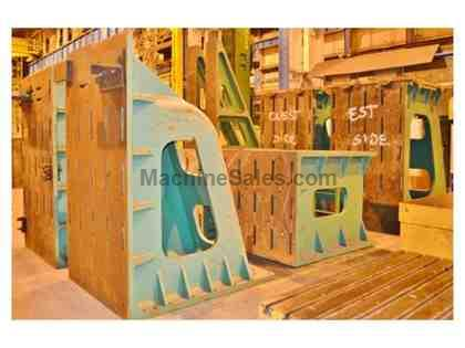 "(2) 253"" X 60"" X 108"" Slotted Angle Plate"