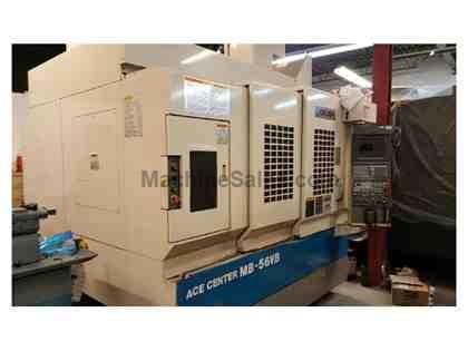 "41""X, 22""Y, 18""Z, OKUMA MB-56VB, 2003,50 TAPER, 4TH AXIS, 6,"